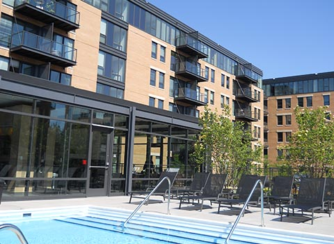 Architectural Glass & Metal Projects for Condos and Apartments
